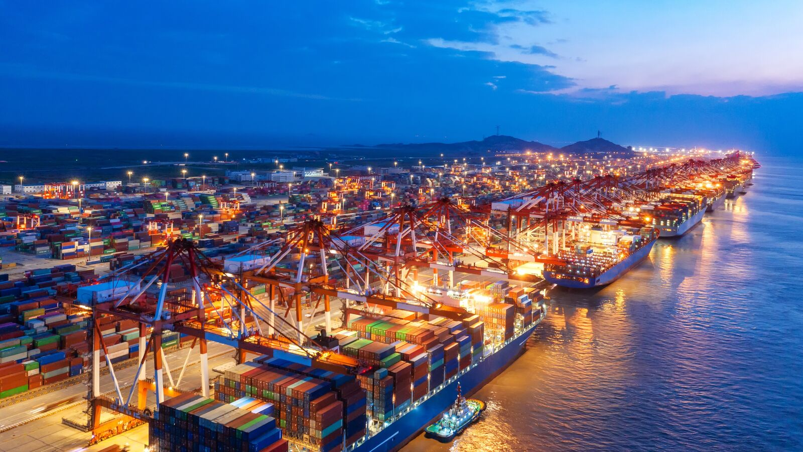 supply chain solutions port